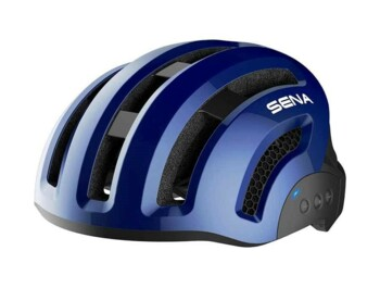 SENA - smart cycling helmet - modrá navy varianta