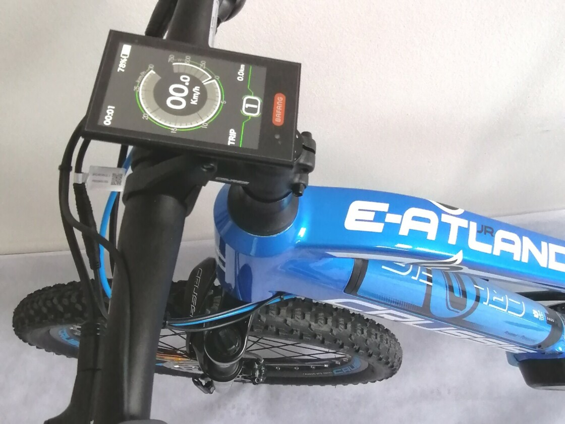 Elektrokolo CRUSSIS e-Atland 6.6 Junior - Řidítka a display Bafang